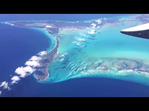 Scenic Flight over Caribbean Ocean