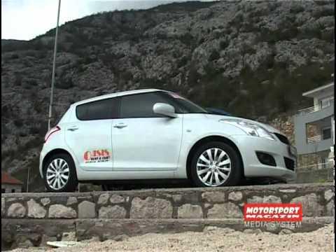 New Suzuki Swift 2012 Test Review Motorsport Magazin By Vladimir