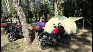 Motorcycle Camping - What 2 Old People Eat
