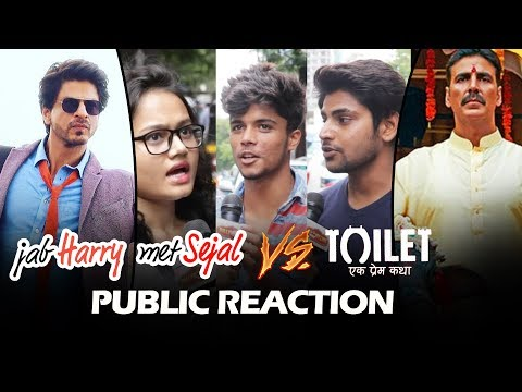 Thumbnail: Jab Harry Met Sejal Vs Toilet Ek Prem Katha - Public Reaction - Who Is The WINNER?