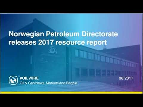 Norwegian Petroleum Directorate releases 2017 resource report