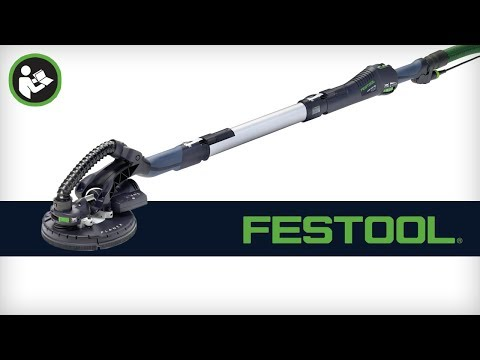 Getting Started with the Festool PLANEX LHS 225 Drywall Sander