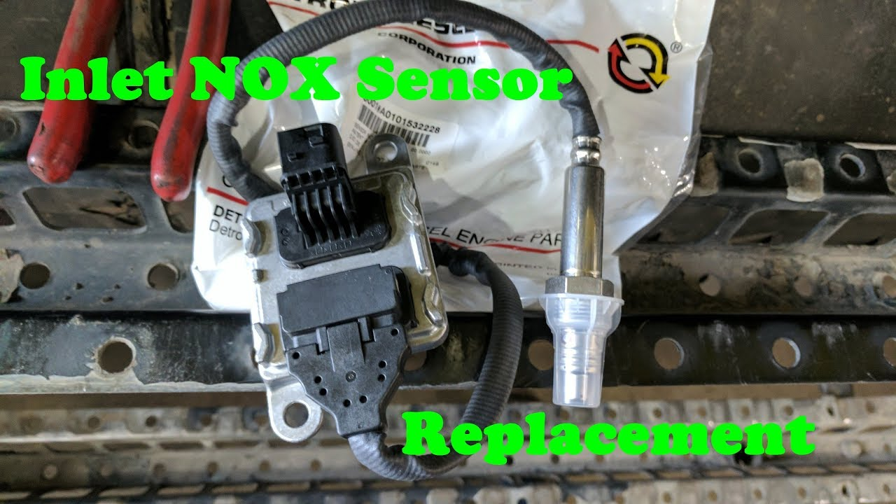 How to replace an Inlet NOX Sensor