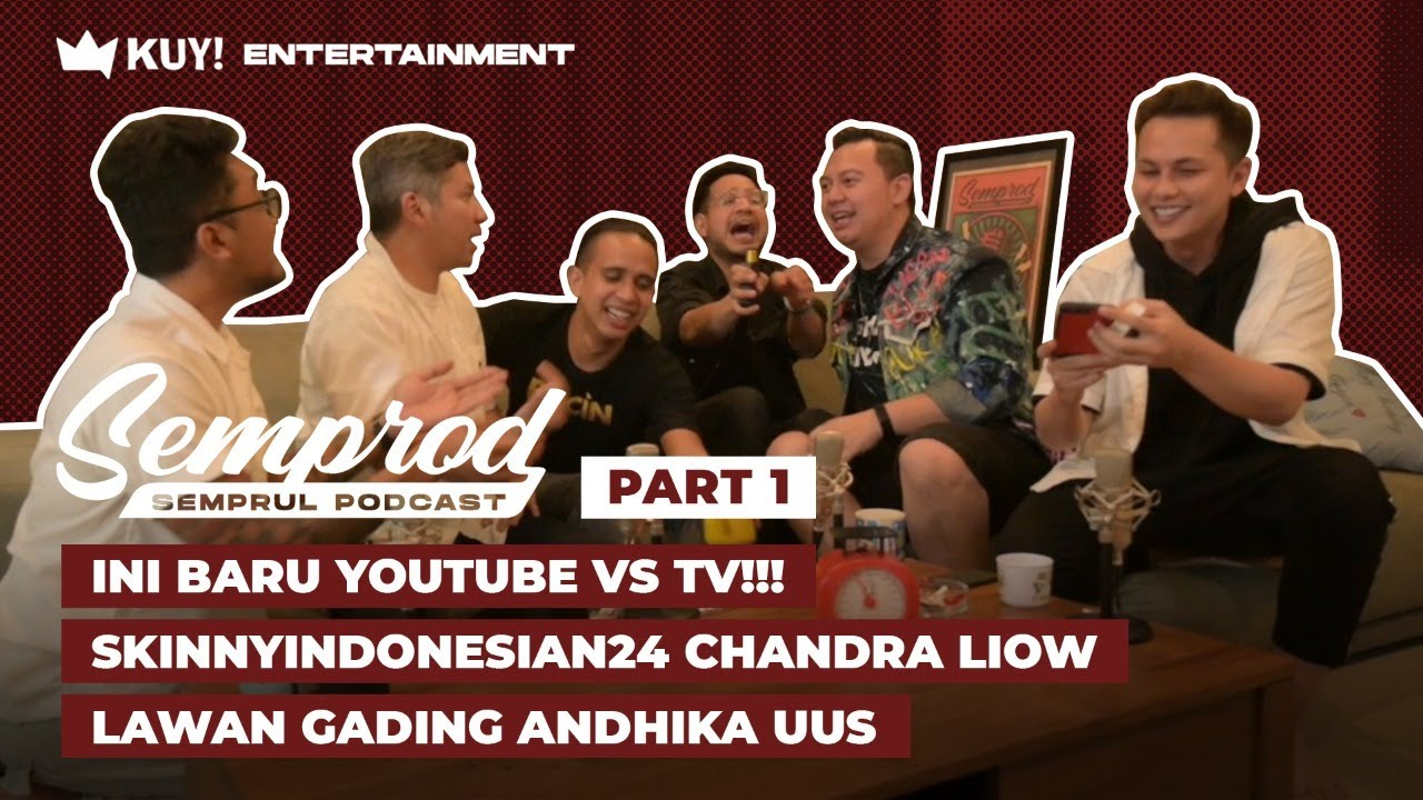 SEMPROD : SKINNYINDONESIAN24 DIKEROYOK ANDHIKA GADING UUS | YOUTUBE VS TV!!! | EPS. 6 - PART 1