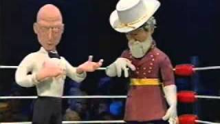 Celebrity Deathmatch - Ulysses S. Grant vs. Robert E. Lee