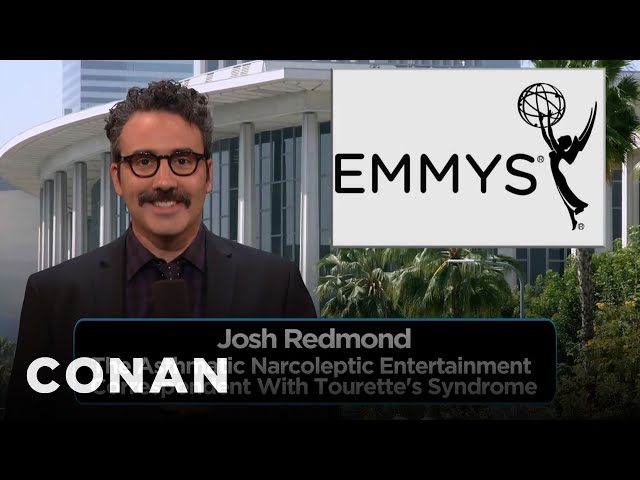 Josh Redmond, The Asthmatic Narcoleptic Entertainment Correspondent  - CONAN on TBS