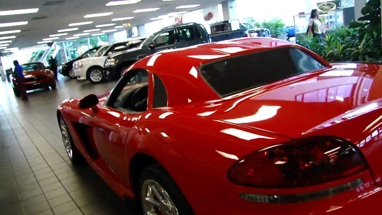 Dodge Viper For Sale >> Dodge Viper SRT10 w/removable hard top - YouTube