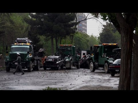 IS-claimed attack on Kabul NATO convoy kills at least 8