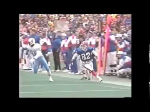 "Oilers vs Bills, playoffs 1992, ""The Comeback"" Highlights NFL Primetime"