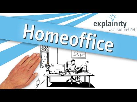 Homeoffice einfach erklärt