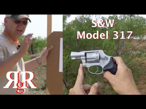 S&W Model 317 (with Taurus 94 / Ruger LCR 22)