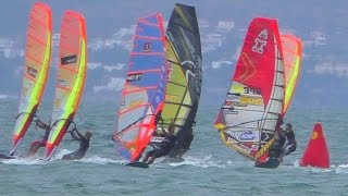 Finals of Elimination 2 - PWA Catalunya Slalom World Cup Costa Brava 2015