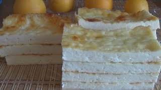 Домашний рецепт сыра в духовке и творожный сыр Рикотта.