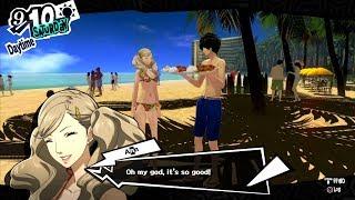 Persona 5 -   Dating Ann at Hawaii Trip! HQ