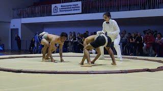 Сумо Первенство России Финалы Sumo Соревнования в Кстово борьба