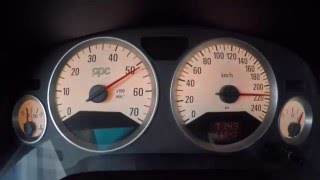 Opel Astra G OPC 2.0 Turbo Stage 4.5, 80-250km/h