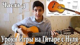 Быстрое Обучение Игре на ГИТАРЕ [3 часть]Песни под гитару,Как Брать Аккорды,Игра Боем на Гитаре