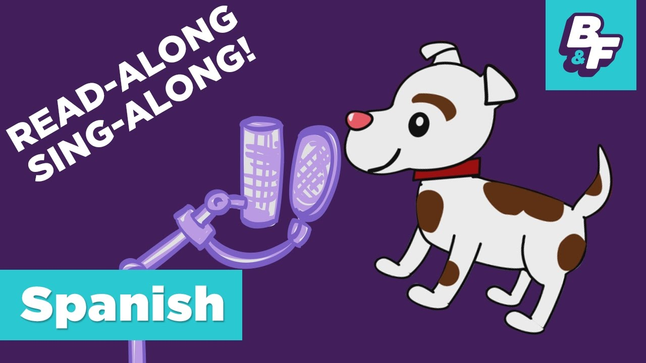 Sing-Along Children Song - Learn Spanish Alphabet and Vowels with  BASHO&FRIENDS - Órale, el alfabeto