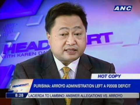 Sec. Cesar Purisima (DOF) on Headstart