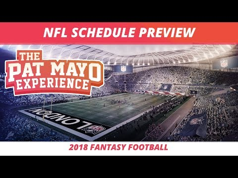2018 NFL Schedule Predictions, Recap and NFL Draft Preview