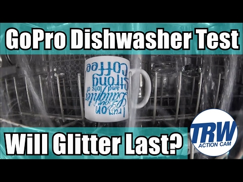 How to Make a Custom Glitter Coffee Mug with Heat Vinyl and GoPro Dishwasher Test
