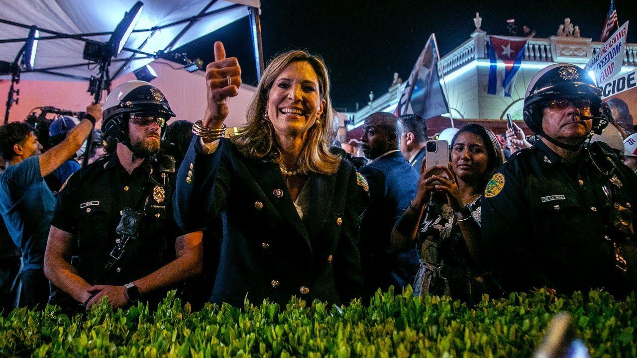 Congresista Maria Elvira Salazar critica al presidente Joe Biden por su falta de acción con Cuba