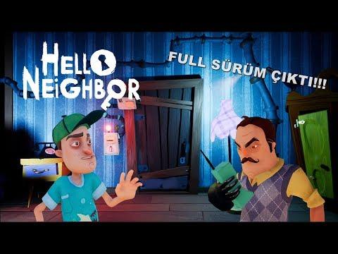 Hello Neighbor | FULL SÜRÜM ÇIKTI! ACT1 ÖN İNCELEME [Türkçe] #98