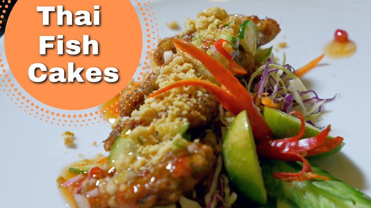 Thai Food Fish Cakes Recipe