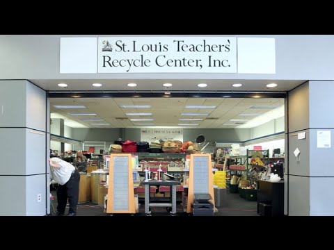 St Louis Teachers' Recycle Center - YouTube on