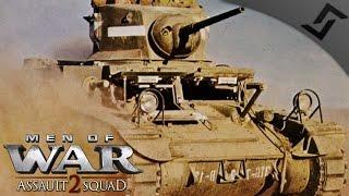 Stuart vs Ha-Go Wave Attacks - Men of War: Assault Squad 2 - Robz Mod