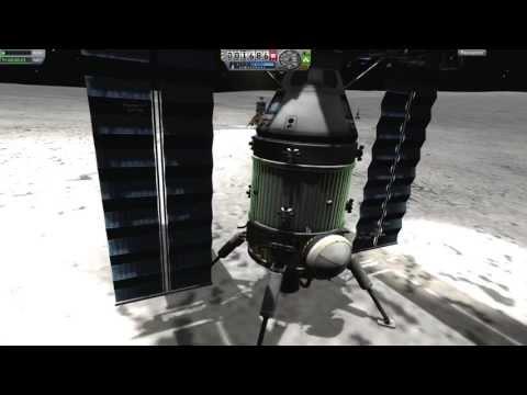 Installation 08 - KSP Mission 9 - Episode 4 : Electricité Générale de Mun.