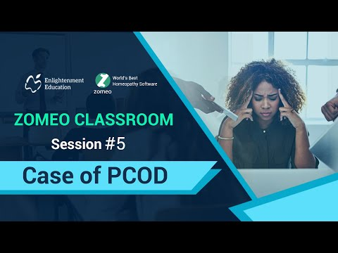 Zomeo Homeopathy Software: Case of Polycystic Ovarian Disorder(PCOD)