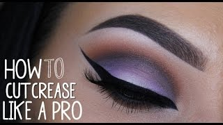 How to cut crease like a pro part 1