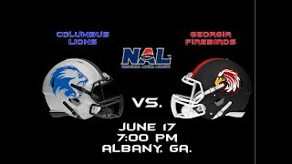 Columbus Lions vs. Georgia Firebirds