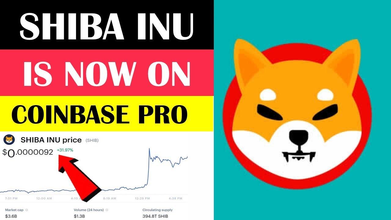 Shiba Inu Coin Price Soars as Coinbase Pro Announces SHIB ...