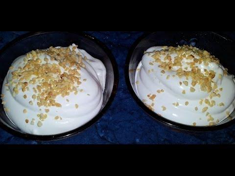 Белковый десерт. Видео рецепт.