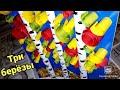 Поделки - ТРИ БЕРЕЗЫ, ЛИСТОПАД /ОСЕННИЕ ПОДЕЛКИ ИЗ БУМАГИ/ ПОЭТАПНО/ОРИГАМИ/THREE BIRCH leaf fall origami