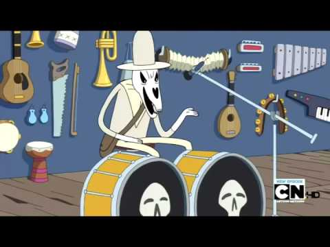 Batalla musical death HORA DE AVENTURA