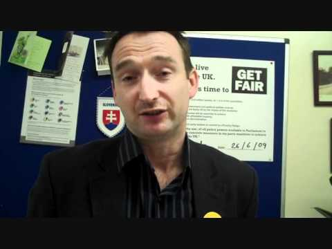John Leech MP talking about the poverty challenge Nov 2010