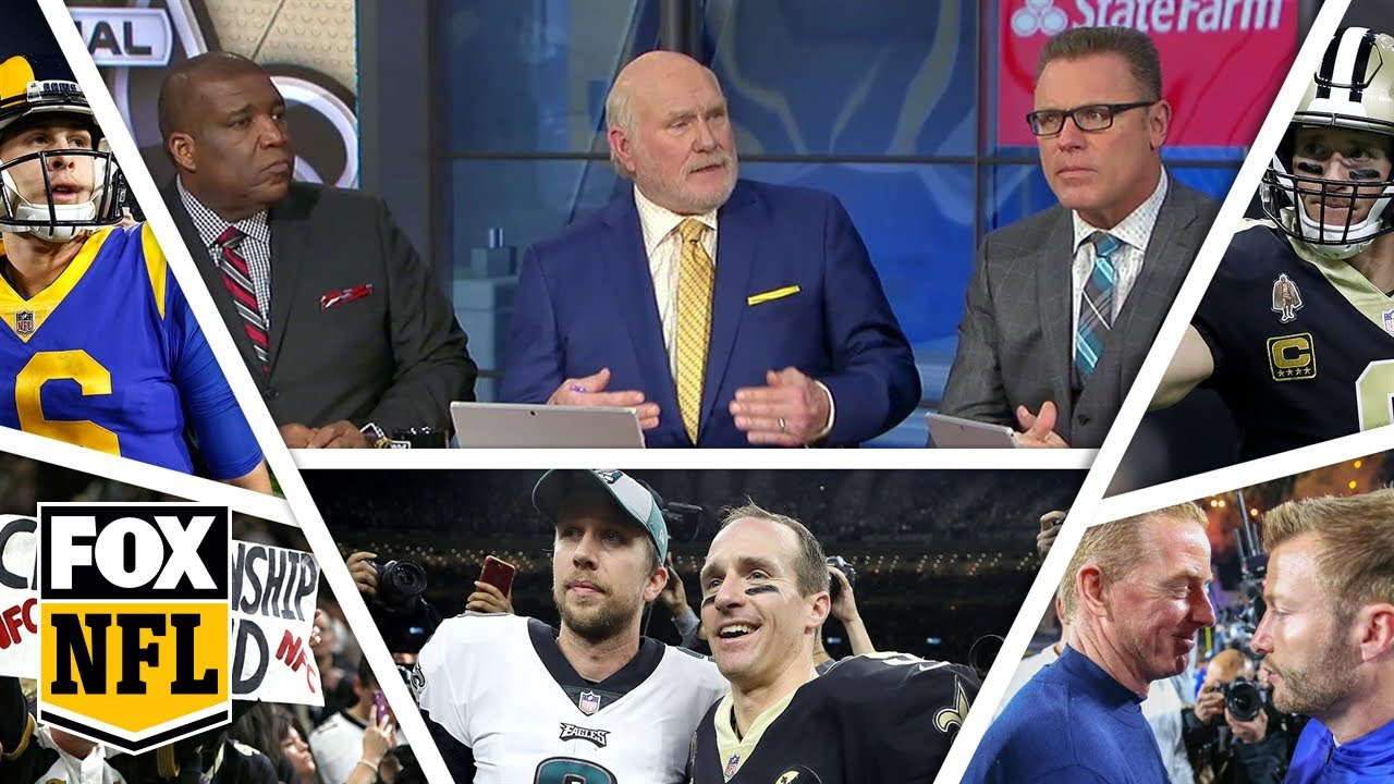 FOX NFL crew preview NFC Championship game  NFL