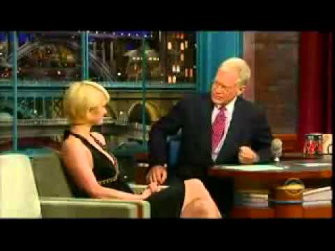 David Letterman questions Paris Hilton about jail