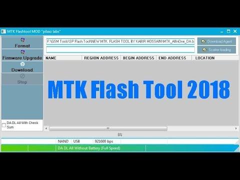 MTK Flash Tool 2018