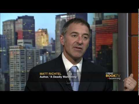 """Book TV After Words: Matt Richtel, """"A Deadly Wandering"""""""