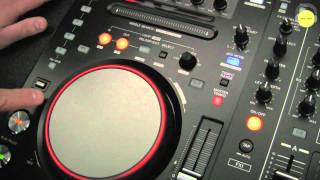 Pioneer DDJ-S1 Deck/Platter Section Overview | agiprodj.com