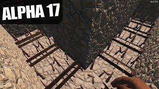 ALPHA 17 | SPIKE MAZE HALLWAYS | 7 Days to Die Alpha 17 Gameplay | S17.3E21