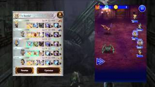 FFRK FF XII - The Dreadnought Leviathan Elite - Barheim Passage Terminus