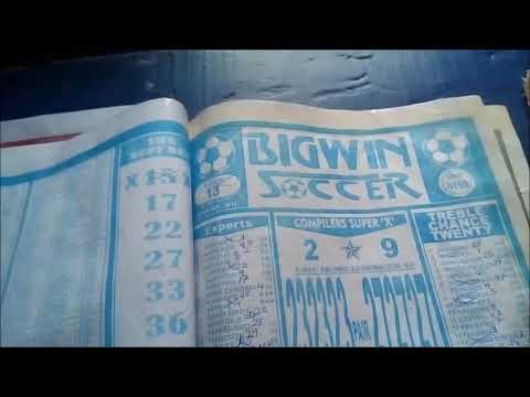 Week 29, 2019 Bigwin Soccer Draws Pool Bankers - YouTube