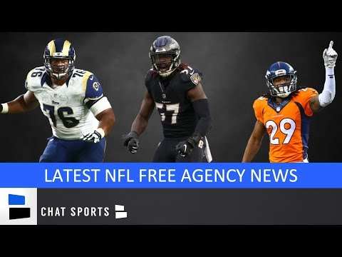 NFL Free Agency News: Anthony Barr, Matt Paradis, Sheldon Richardson, Bradley Roby & Latest Signings