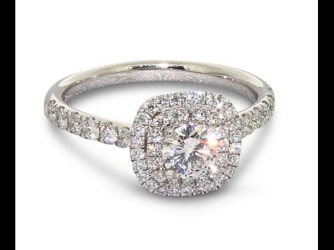 BERLIN Platinum Diamond Engagement Ring | Gear Jewellers Dublin