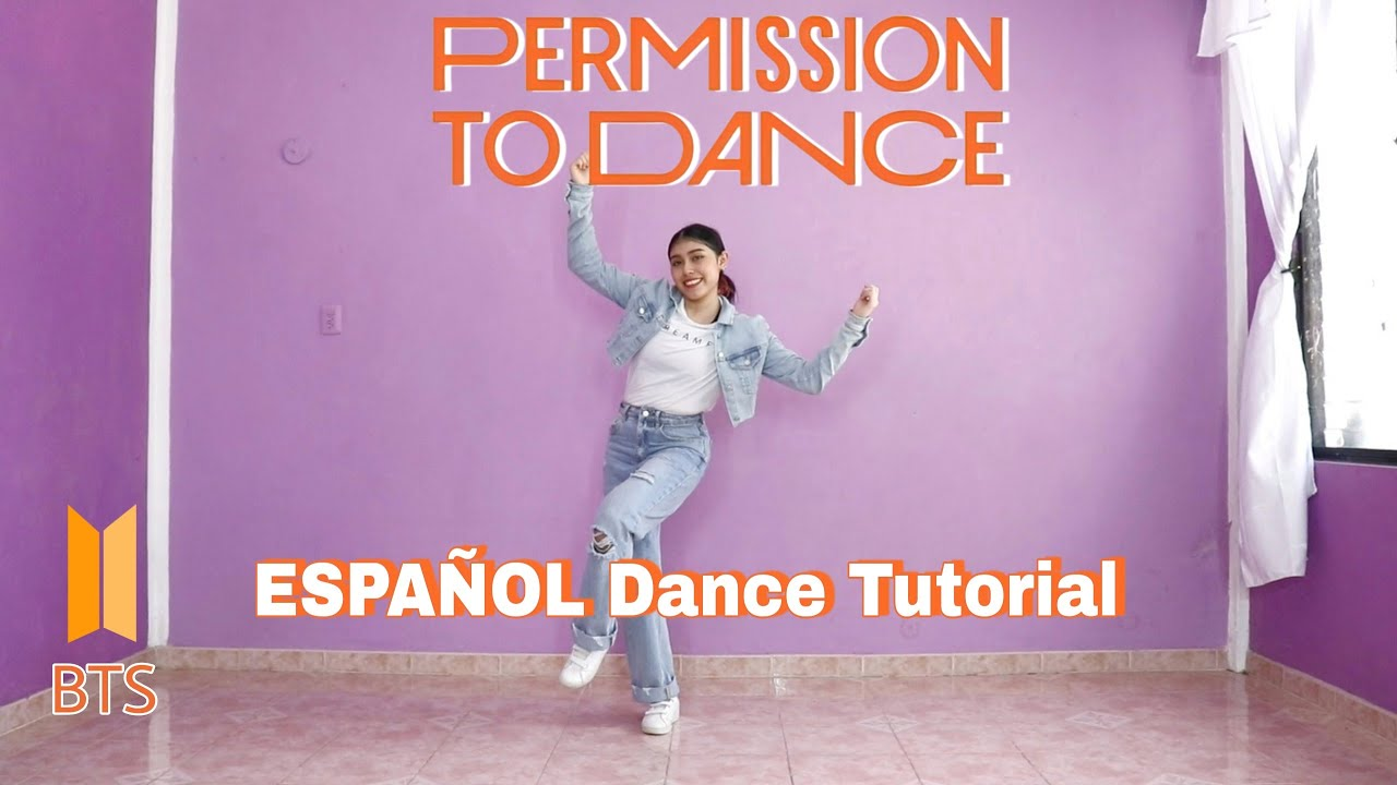 BTS - Permission to Dance | ESPAÑOL Dance Tutorial | Mirror | Kenya Chan